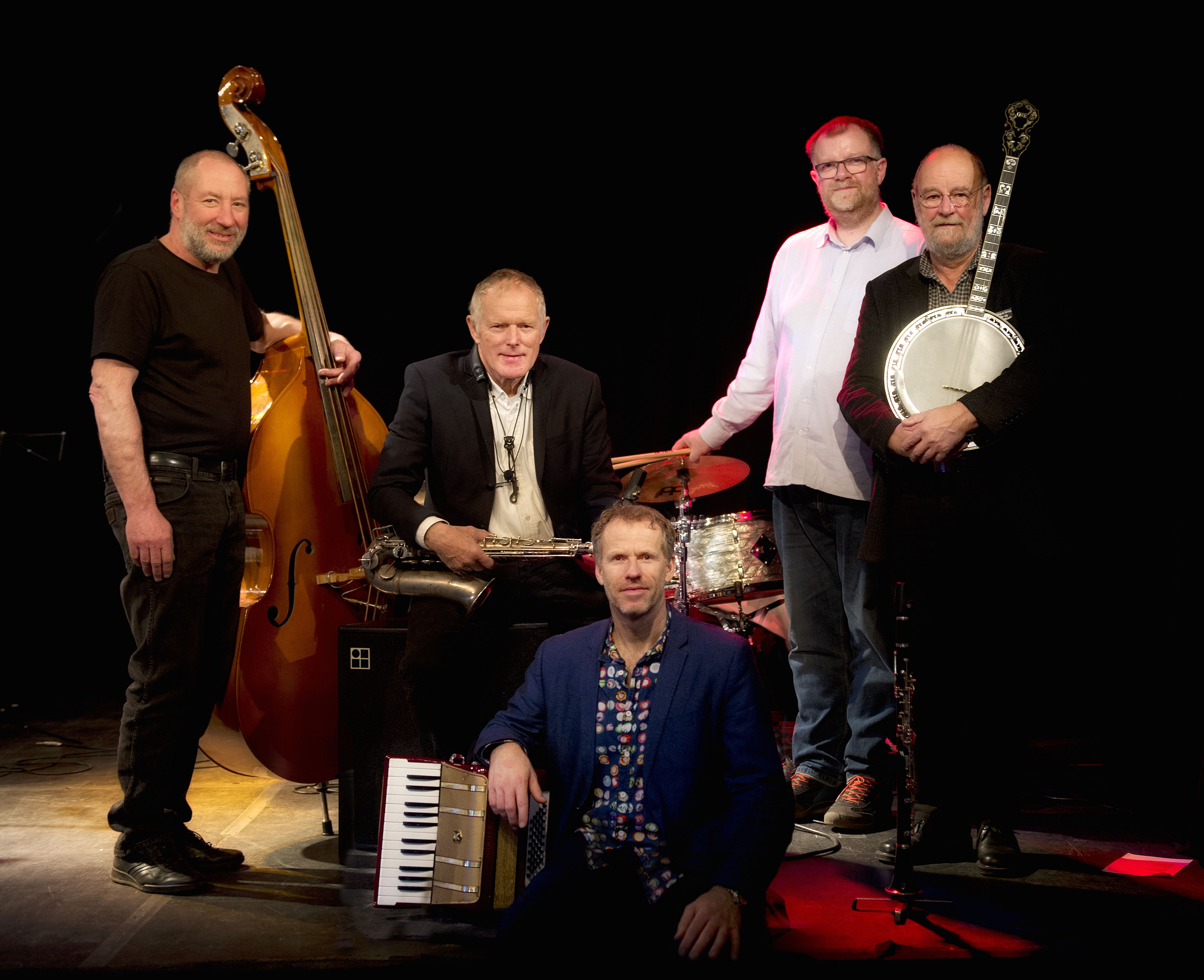 Red Hot Four featuring Jan Nielsen in Hadsten on 01/02/20