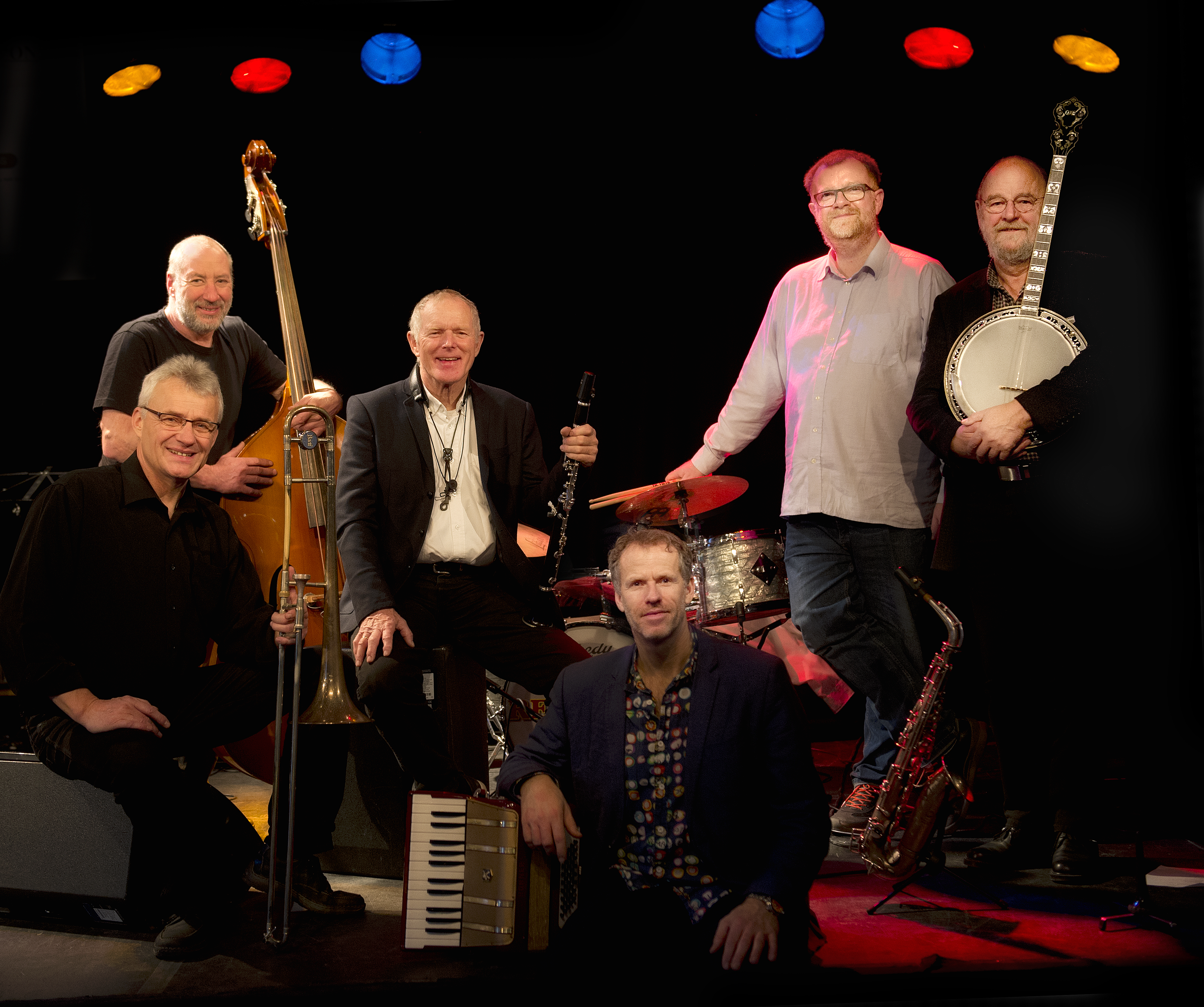 Red Hot Four featuring Jan Nielsen and Finn Burich in Silkeborg on 11/01/20