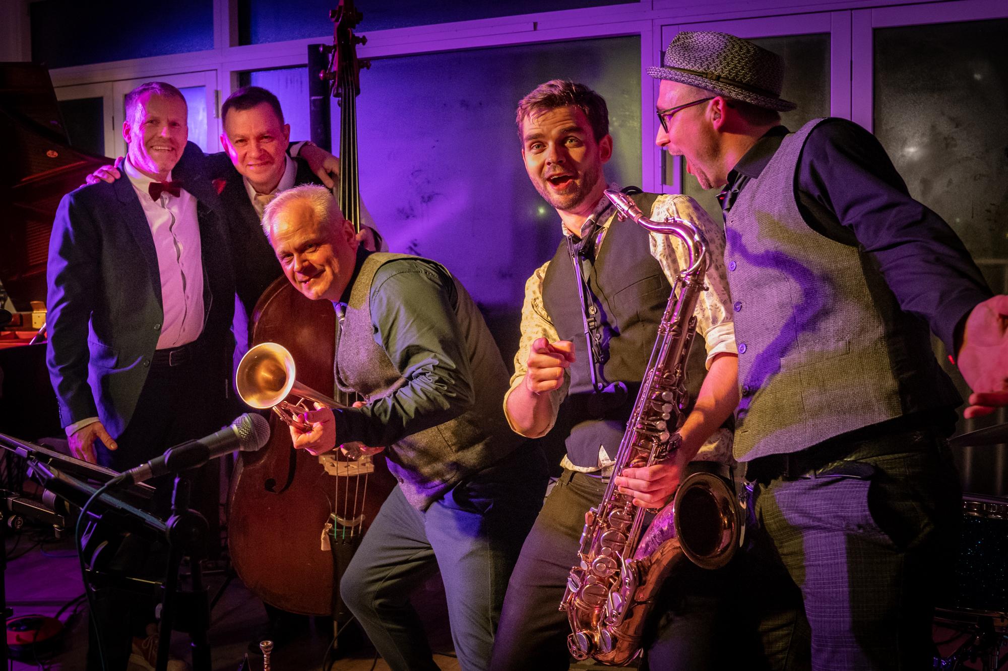 Flying Jazzman Quintet in København on 17/01/20