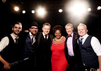 Flying Jazzman Quintet w/ Deborah Herbert (US) in Silkeborg on 11/12/21